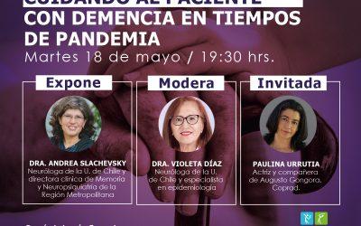 Conversatorio: Cuidando al paciencte con demencia en tiempos de pandemia